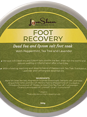 Foot recovery salts