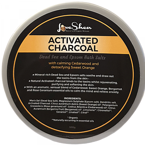 Activated Charcoal salts